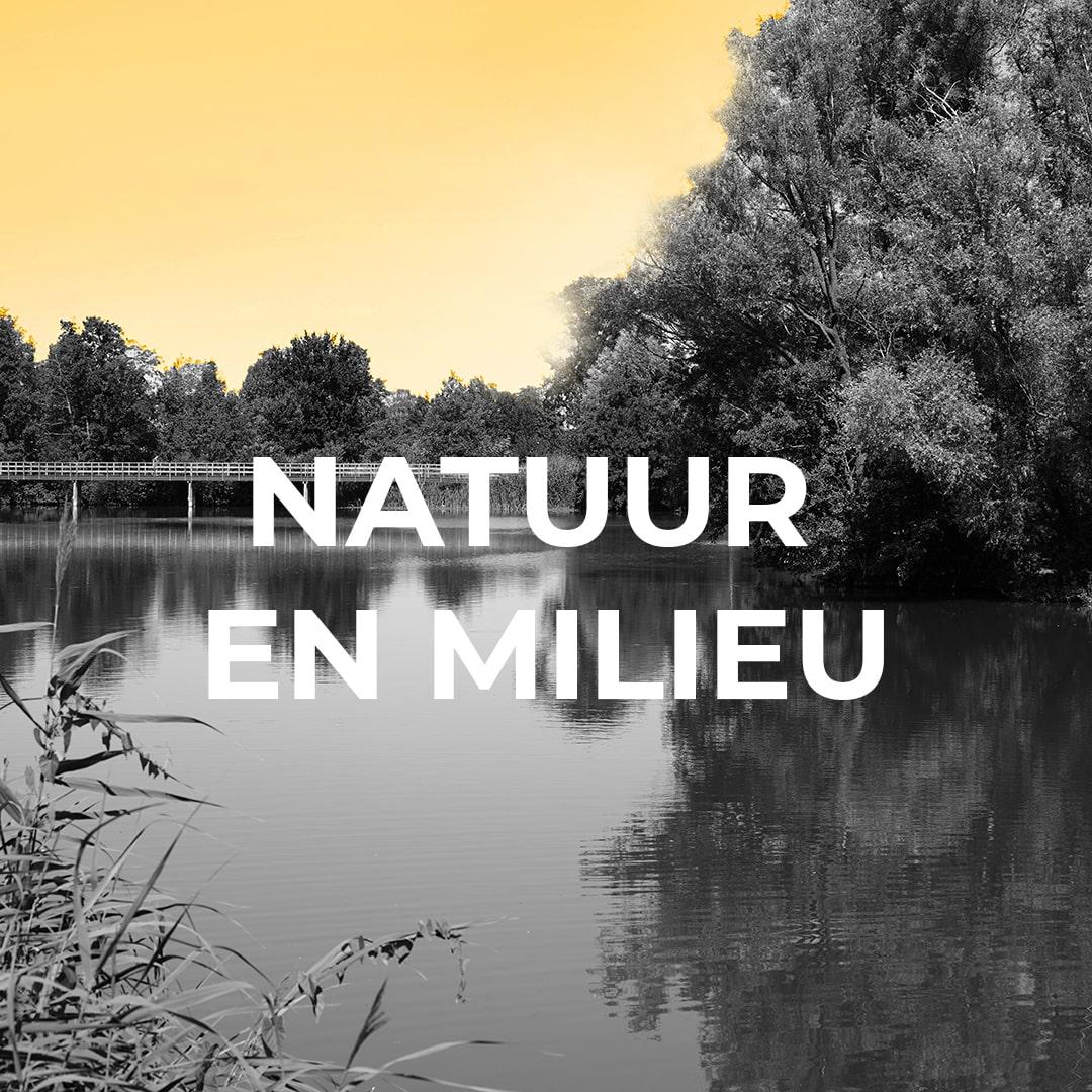 Een natuur die in balans is